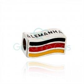 Berloque Alemanha Prata
